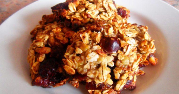 Ciasteczka owsiane fit – bez maki i bez cukru