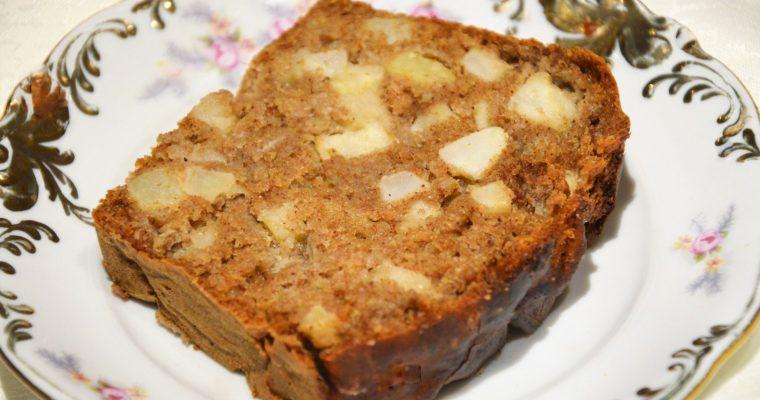 Ciasto z tahini i jabłkami – słodkie, bez cukru i bez miksera