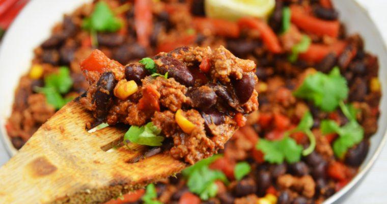 Tradycyjne meksykańskie chili con carne