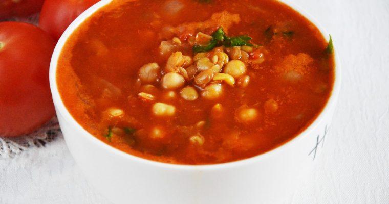 Harira, czyli marokańska zupa z ciecierzycy i soczewicy
