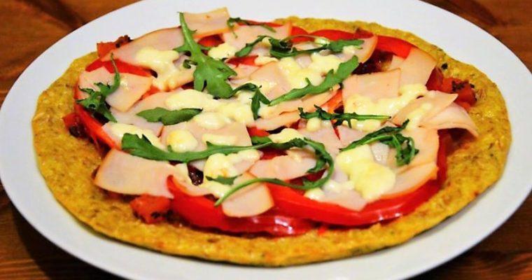 Pizza z płatków owsianych