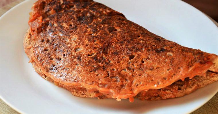 Placek marchewkowy z ricottą