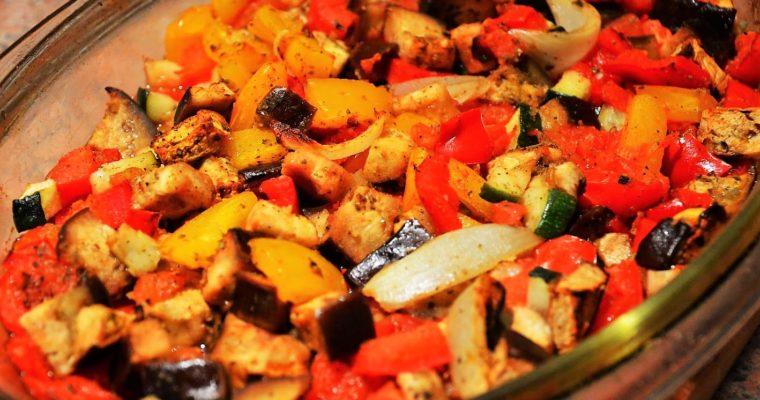 Turlu, czyli pieczony turecki gulasz warzywny