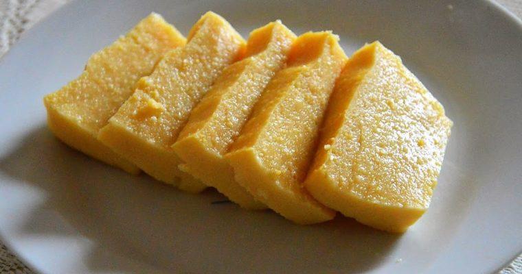 Tofu birmańskie, czyli tofu z mąki z ciecierzycy