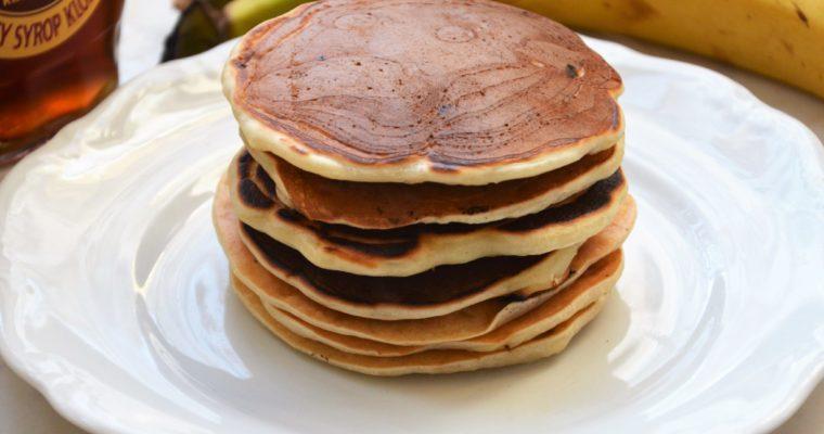 Wegańskie pancakes bananowe