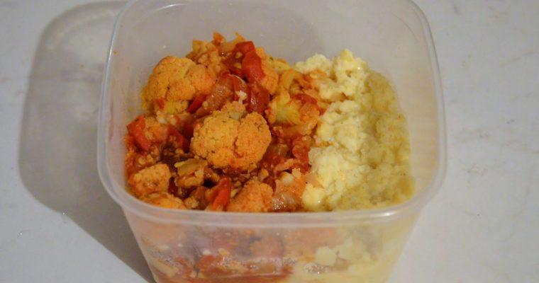 Proste curry z kalafiora