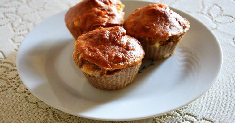 Wytrawne muffinki serowe