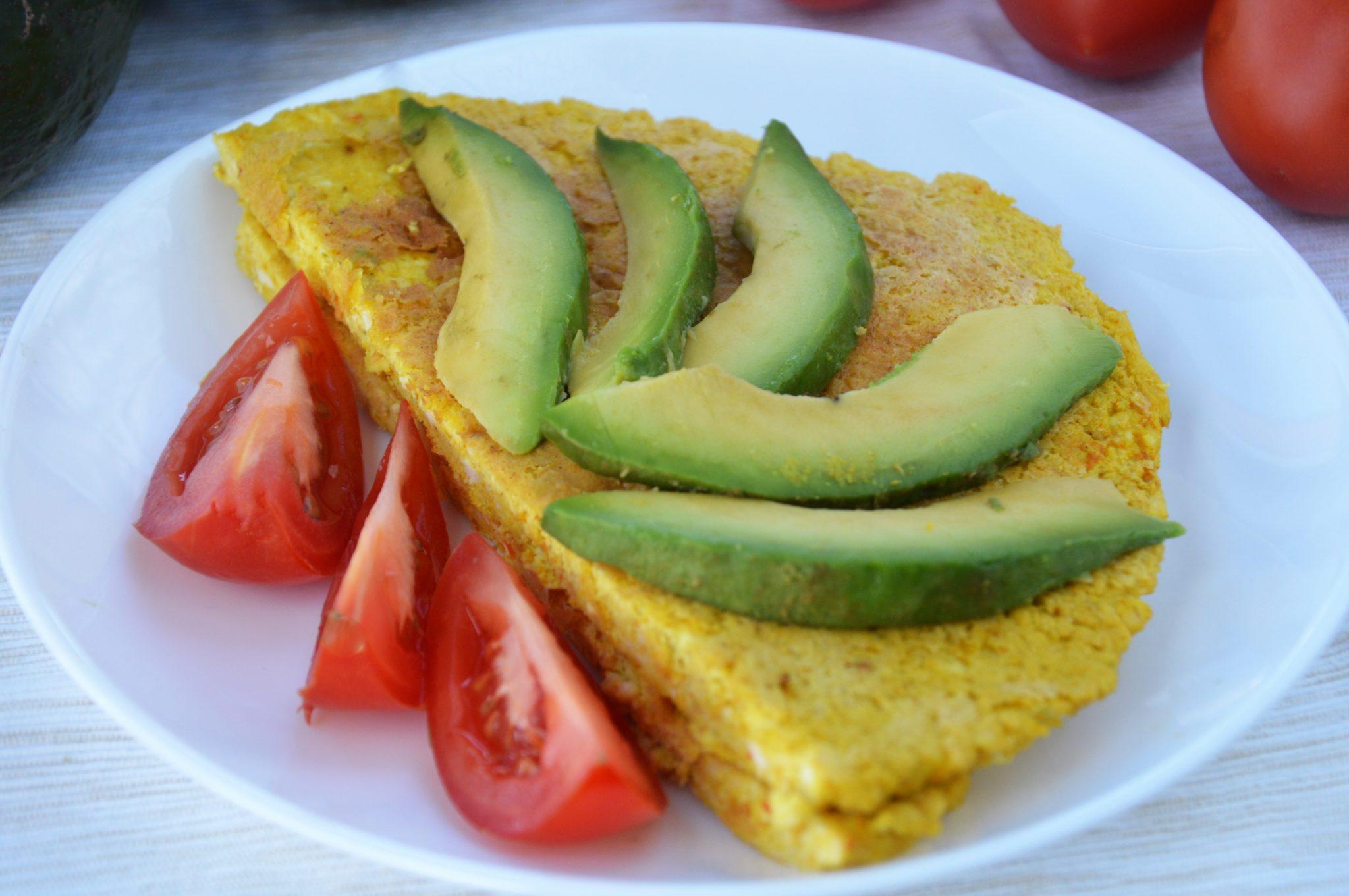 Omlet z tofu