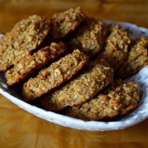 Ciasteczka owsiane bez cukru i mąki