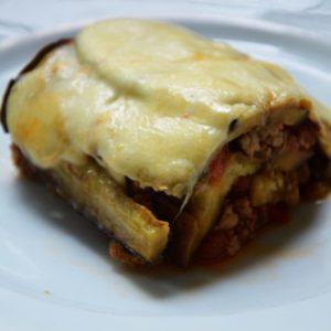 Lasagne z bakłażana