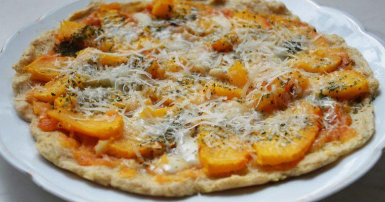 Pizza z dynią i parmezanem