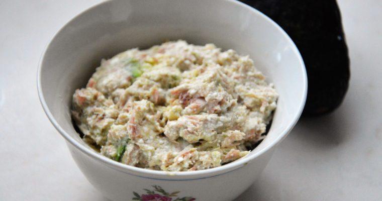 Pasta z tuńczyka i awokado