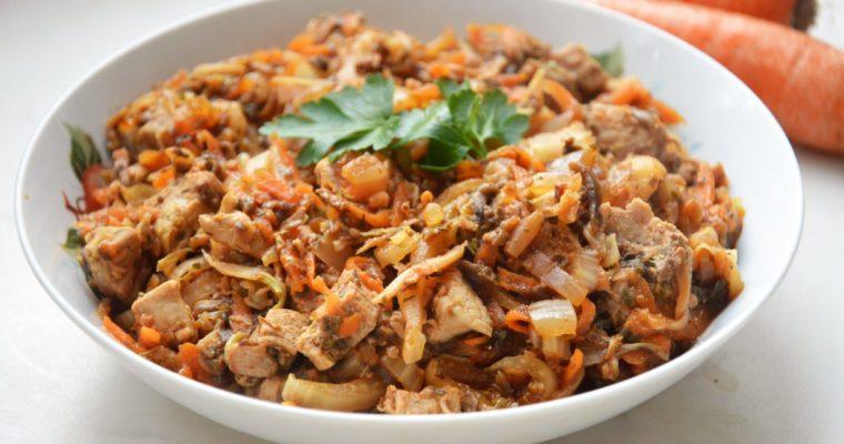 Dietetyczny bigos z kapusty pekińskiej