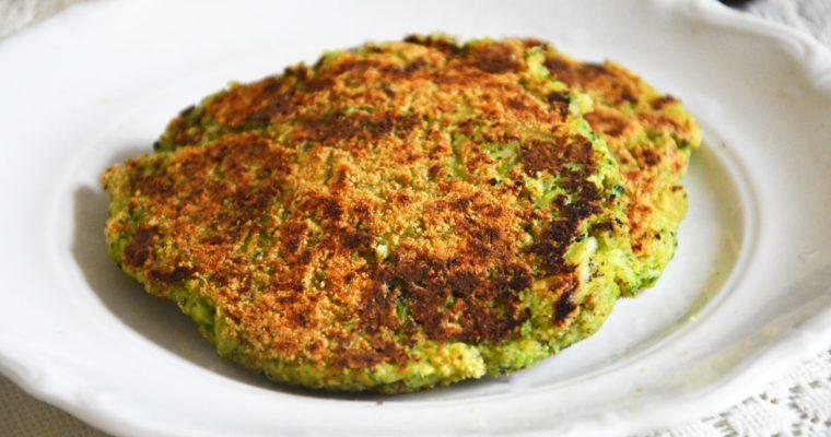 Wegańskie kotlety brokułowe z awokado
