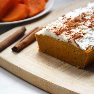 Zdrowe ciasto dyniowe z ricottą bez cukru