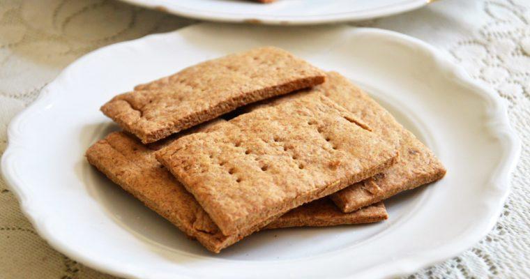 Zdrowe herbatniki pełnoziarniste bez cukru