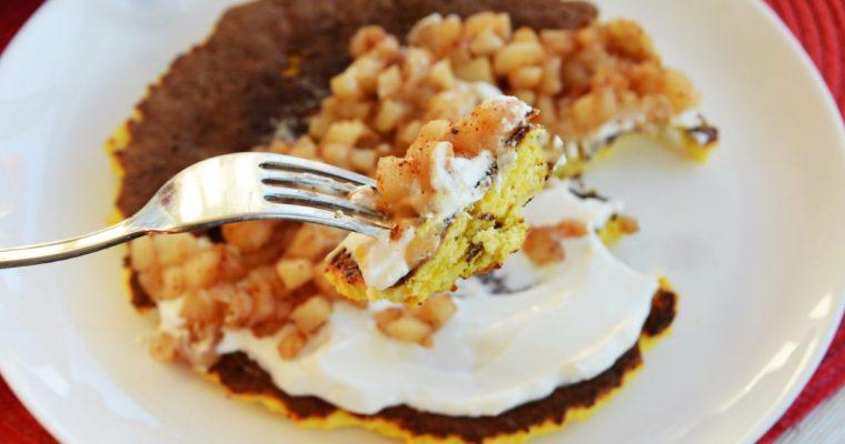Kokosowy omlet dyniowy