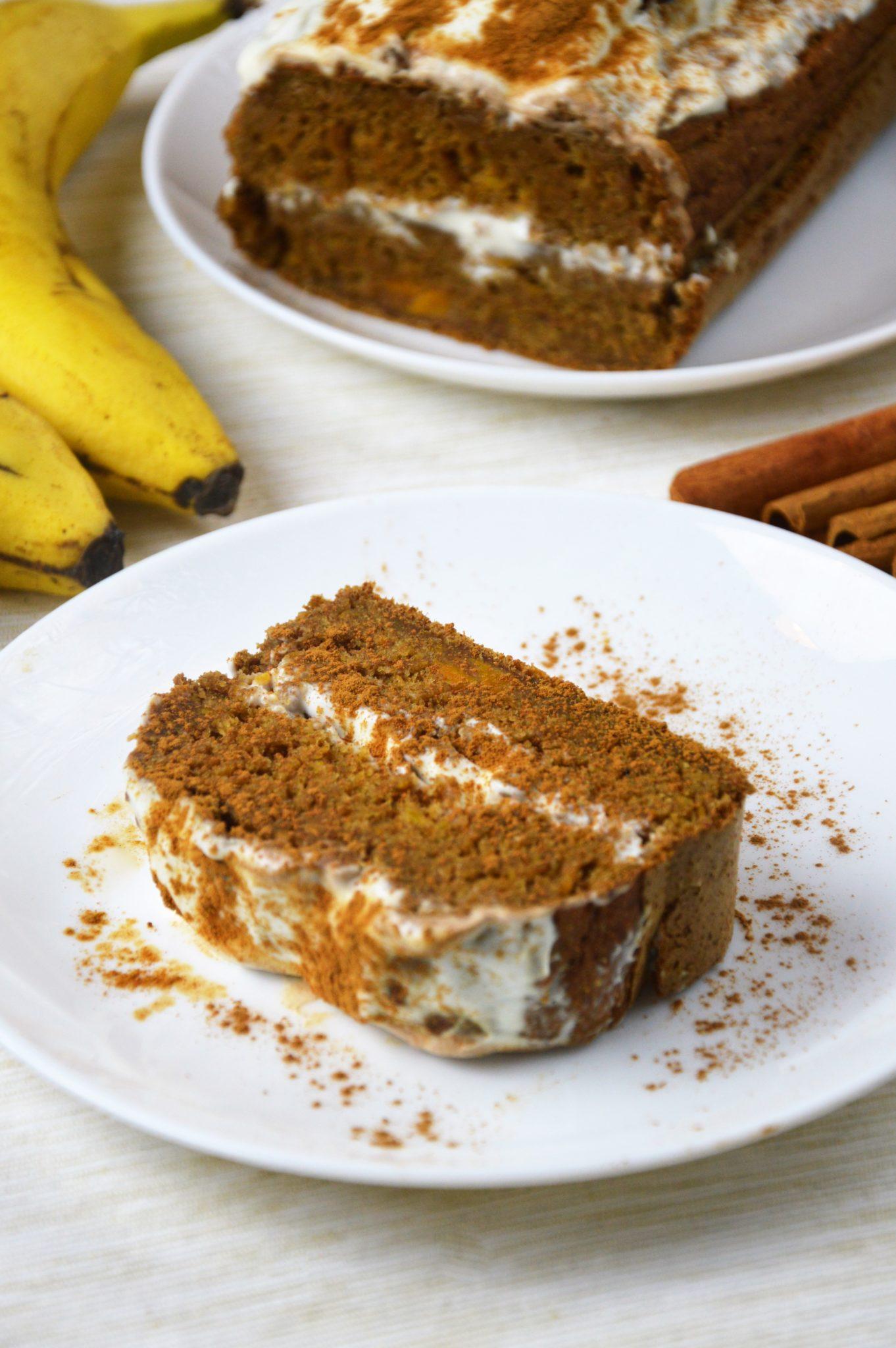 Kawałek ciasta dyniowego