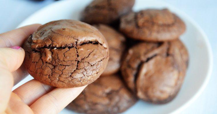 Czekoladowe ciasteczka a la brownies
