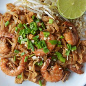 Idealny Pad Thai z krewetkami