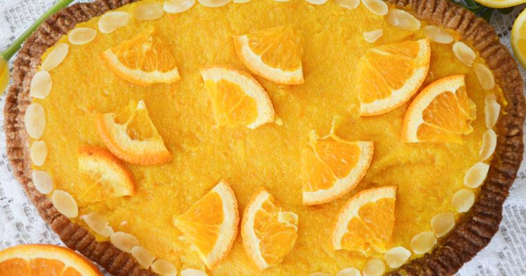Mazurek z pomarańczami i cytrynami