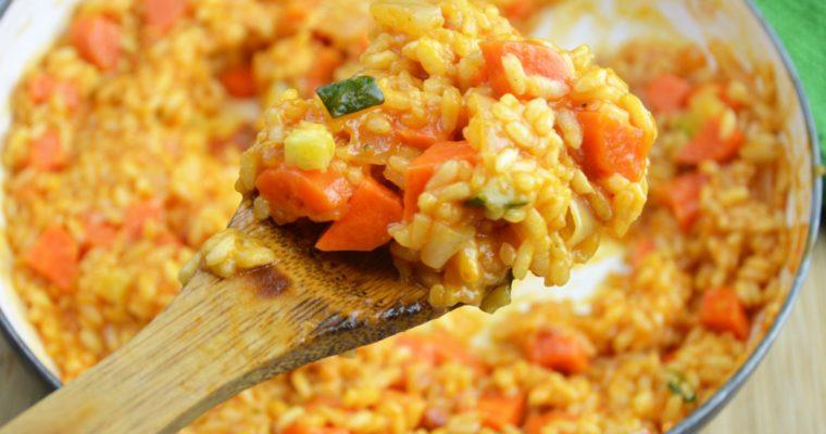 Pomidorowe kremowe risotto – przepyszne comofort food, które pokocha każdy