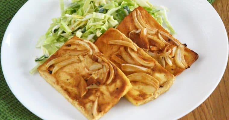 Pieczone tofu w marynacie musztardowej – świetny i łatwy pomysł na pyszne tofu
