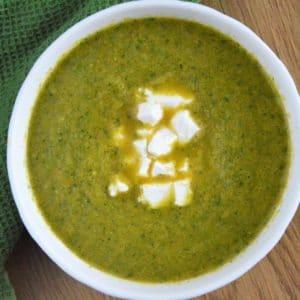 Zupa krem z brokułów fit - najłatwiejsza i najszybsza