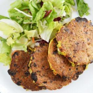 Brokułowe placki z serka wiejskiego - szybkie, łatwe i zdrowe