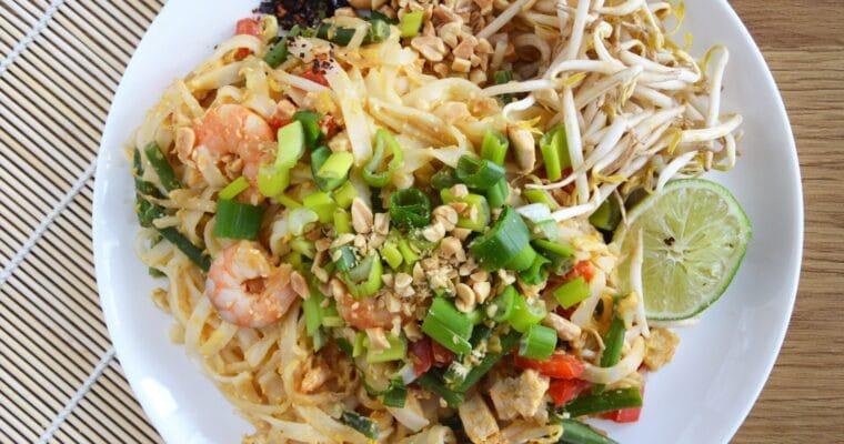 Pad thai z fasolką szparagową – sezonowa wersja najbardziej popularnego tajskiego dania