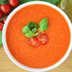 Zupa krem z pieczonych pomidorów - idealny krem na lato