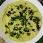 Hummus z bobu - najbardziej sezonowy hummus ever