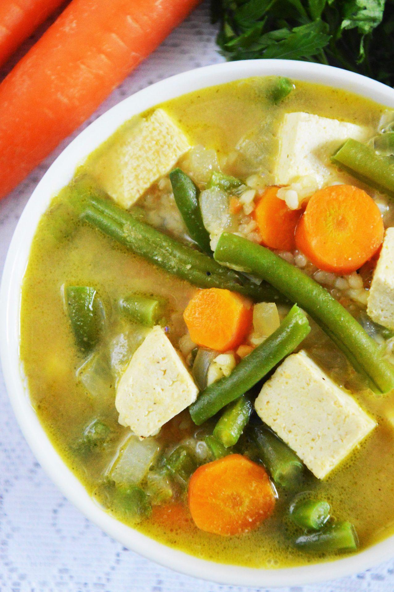 Pomysły na szybkie kolacje - zupa z fasolki