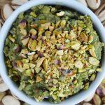 Pasta z bobu, bakłażana i pistacji - wegańska, mega pyszna i łatwa