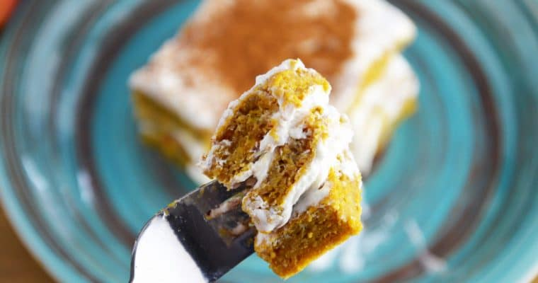 Fit ciasto dyniowe z kremem – bez cukru, łatwe i przepyszne