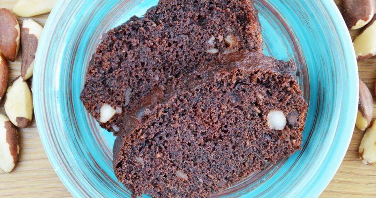 Najpyszniejsze i najłatwiejsze ciasto czekoladowe na kefirze z orzechami – mocno czekoladowe, wilgotne i przepyszne